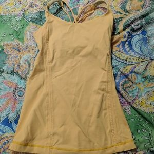 Lululemon - Free to bee tank in burning yellow - 2